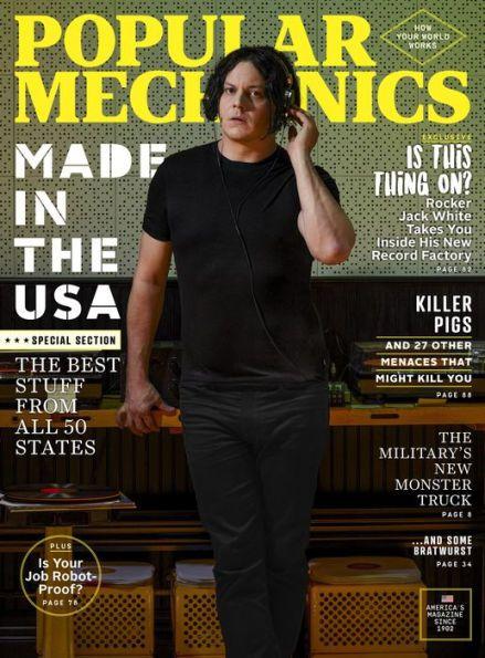 Popular Mechanics - One Year Subscription