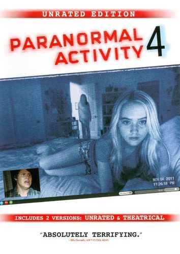 Paranormal Activity 4 [Unrated Director's Cut] [DVD] [2012]