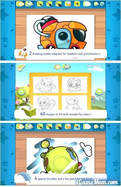 Free App A Fun Coloring For Preschoolers And Toddlers
