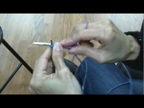 2 at a Time Toe-Up Socks on Circular Knitting Needles - Casting On (Part 1)