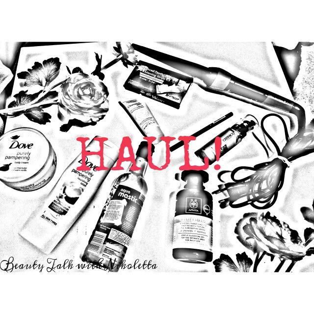 It's #haul time!! :-) Μερικές πρόσφατες αγορές μου αλλά και η γνώμη μου για το αν άξιζαν ή όχι σας περιμένουν στο νέο μου post εδώ: http://beautytalkwithnikoletta.blogspot.gr/2015/03/its-haul.html?m=0  #Apivita #Dove #EauThermaleAvène #Pharm16 #Remington #CATRICE  #Masticspa