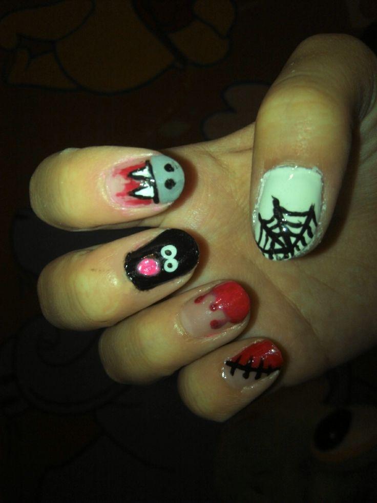 Scary nails :)