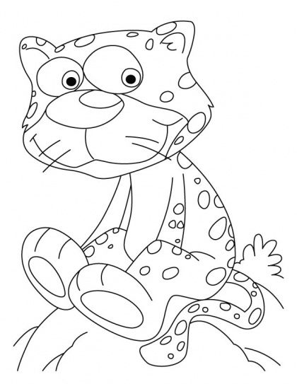 chettah girls coloring pages - photo#36