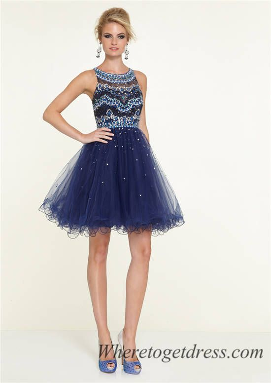 11 best Prom images on Pinterest | Blue dresses, Party dresses and ...