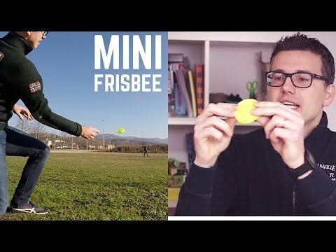 MINI FRISBEE da tasca super veloce fino a 60 METRI: ZIP CHIP - YouTube