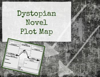 Best Plot Map Ideas On Pinterest Teaching Plot English - Dystopian us map