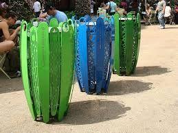 Bilderesultat for park trash can design