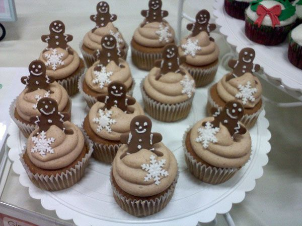 1000 Images About Christmas Cupcakes On Pinterest