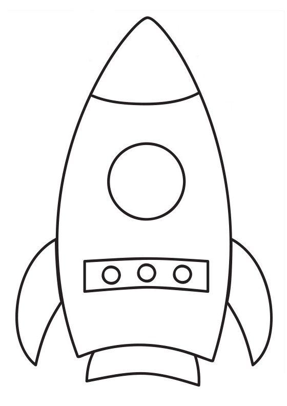 Uçan Roket Sanat Etkinliği Sawyer 4th Bday Space Crafts Rocket