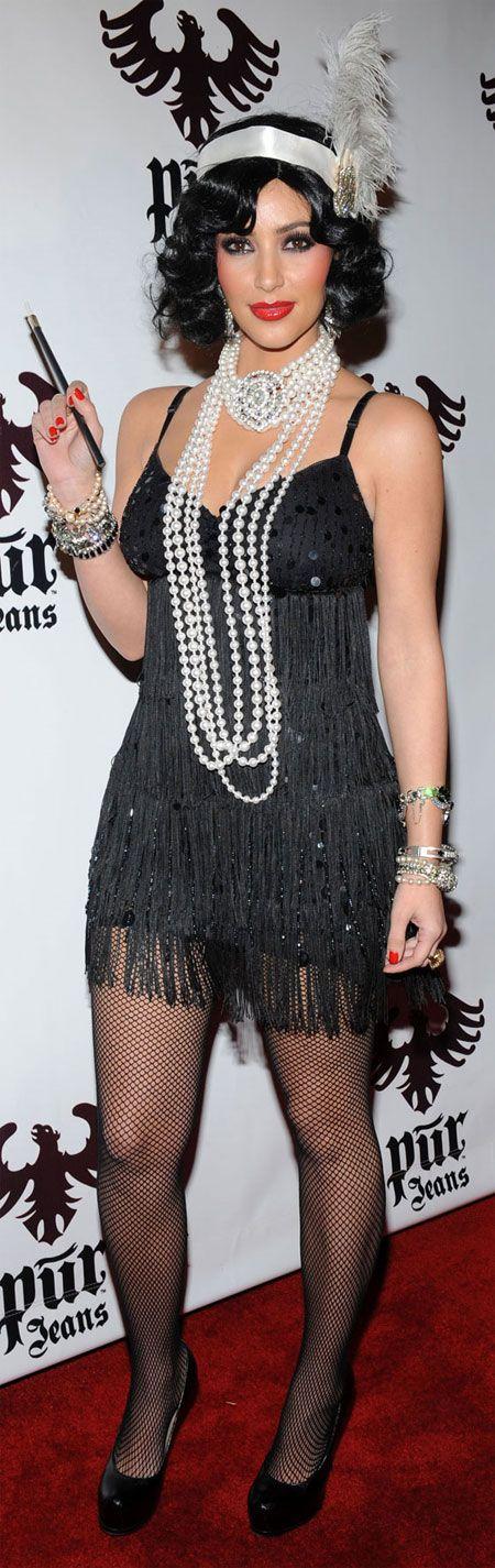 Halloween Costumes | Kim Kardashian Flapper