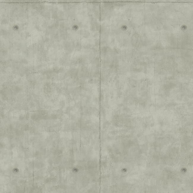 Concrete Wallpaper in Grey from the Magnolia Home Collection by Joanna Gaines