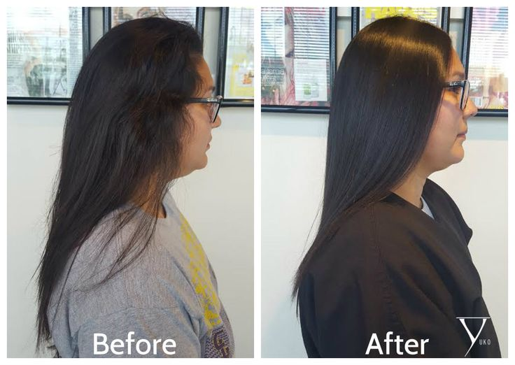 YUKO New growth retouch after 6 months, No Harmful fumes! Great for mostly all hair types as long as they are in good hair condition and have done consultation with their stylist