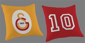 Taç Galatasaray Logo Kırlent