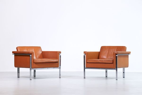 Vintage Armchairs By Horst Bruning For Kill International Set Of