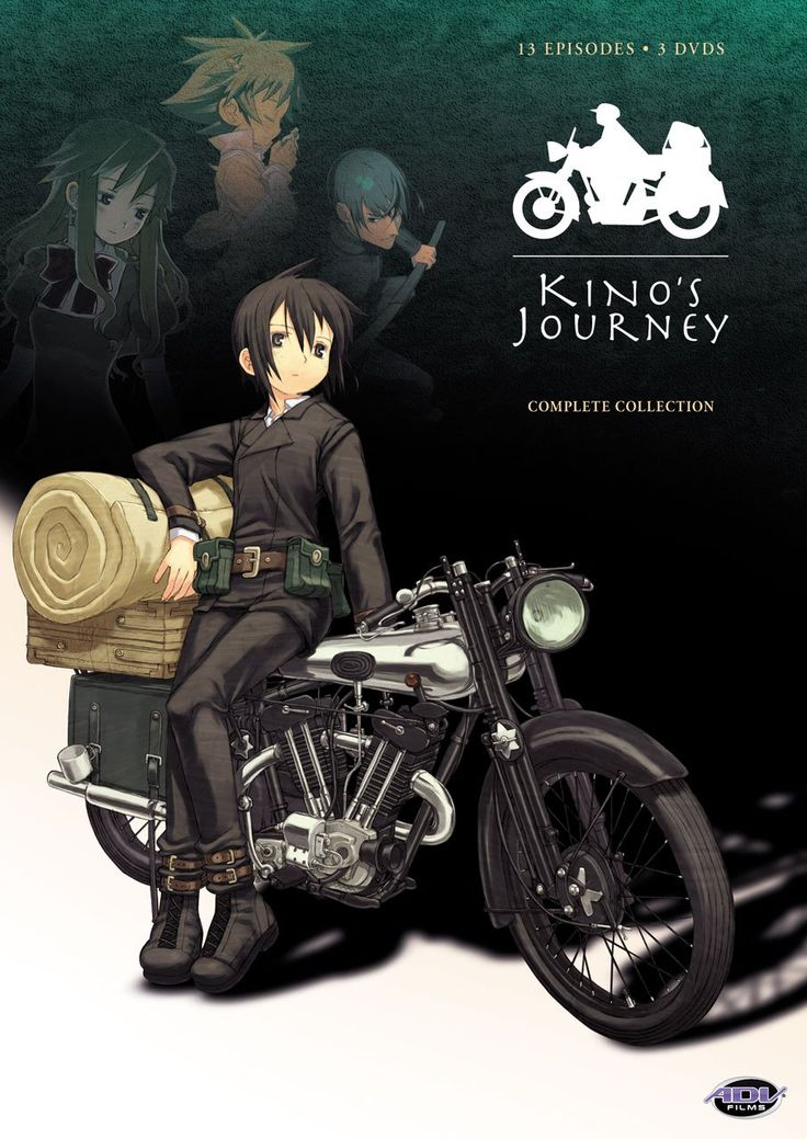 Day 27: Recommend an Anime that most people may not have seen. Kino's Journey. I don't hear a lot of people talk about it which is a shame. Check it out!
