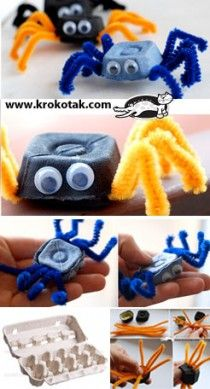 from eggs box | krokotak