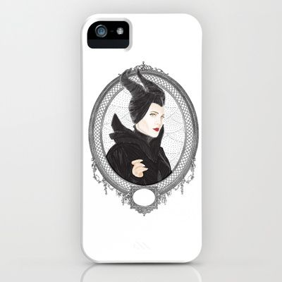 Maleficent iPhone & iPod Case by Eltina Giannopoulou - $35.00