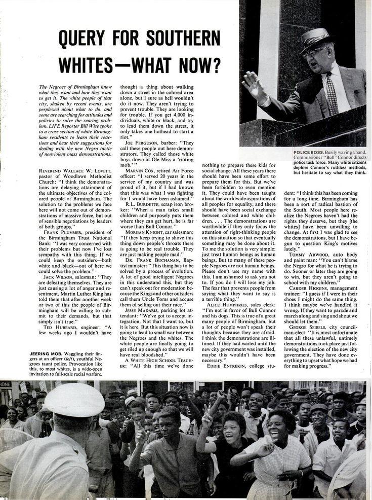birmingham 1963 essay