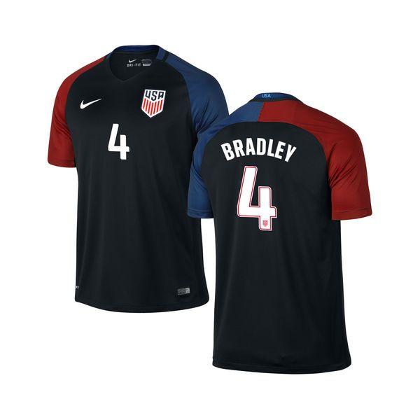 Michael Bradley US Soccer Nike Youth Away Replica Stadium Jersey - Black - $99.99