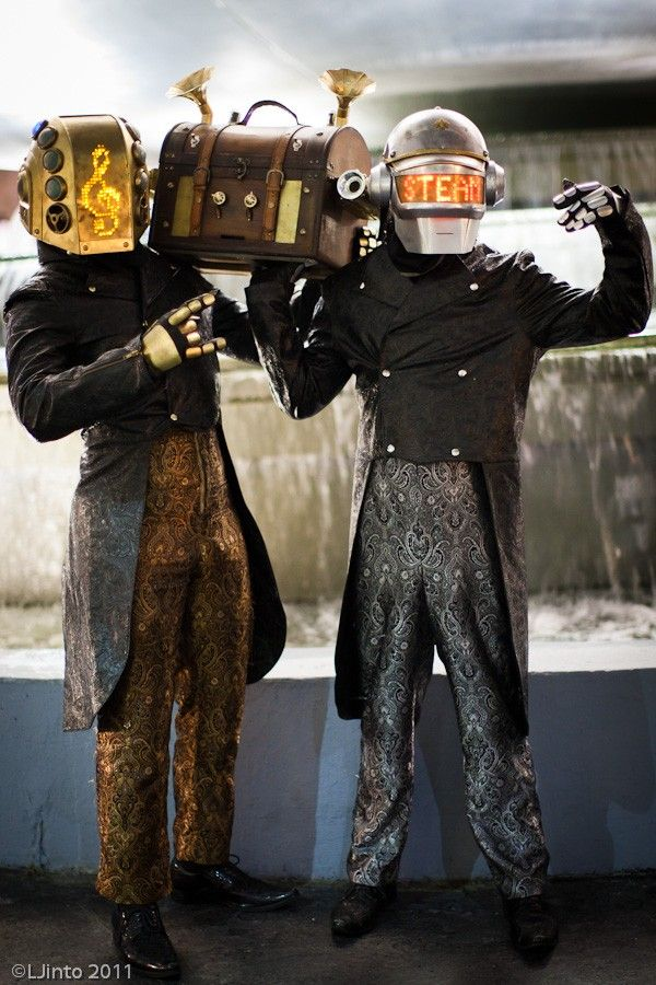 Steam Punk Daft Punk