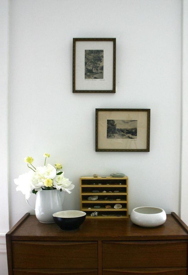Gorgeous Scandinavian Interior Design: Tips and Tricks: Fake Flowe Glass Vase Scandinavian Interior Design Wooden Sideboard ~ oorban.com Interior Designs Inspiration