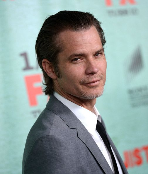"Timothy Olyphant Photo - Premiere Of FX's ""Justified"" Season 4 - Arrivals"