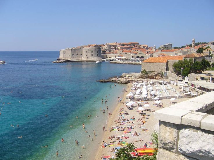 Dubrovnik...my husband took leave here while he was deployed in Bosnia.  He'd love to take me here one day.