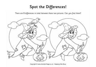 25 best Find the Difference Games images on Pinterest