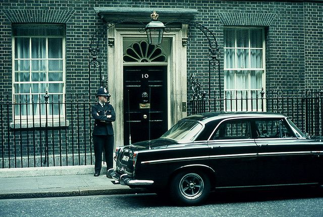 Number 10 Downing Street circa 1967