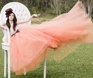 chair, gown: Wedding Dressses, Alice In Wonderland, Mad Hatters, Wedding Gowns, Pink, Tulle, The Dresses, Fall Photos, Aliceinwonderland