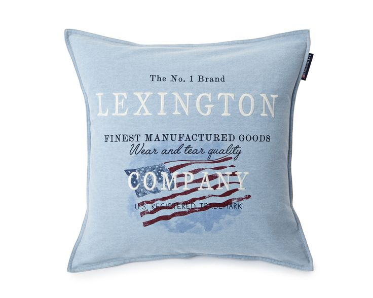 Lexington Cushion Flag Sham 50 x 50 cm Spring2016