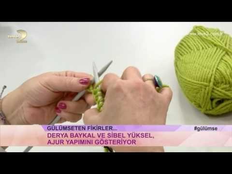 Derya Baykal'la Gülümse: Ajur Yapımı - YouTube