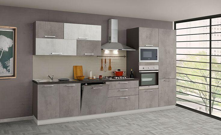 Cucine Di 3 Metri Lineari In Diversi Stili Mondodesign It Idee Per La Cucina Cucine Arredamento