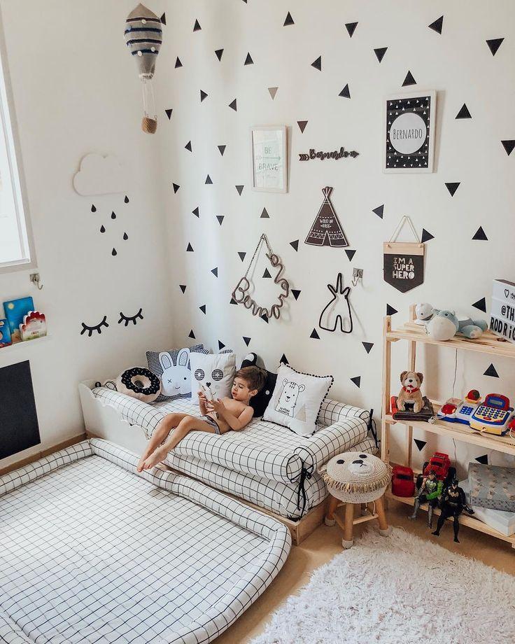 """Thamara Rodrigues – Mutter von Bê auf Instagram: """"Über Bês Anpassung seines Bettes … Ich erzählte die Geschichten, dass Bê in der Nacht in seinem Zimmer schläft. Er hat immer geschlafen … """""""
