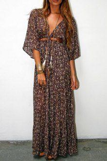 Robes maxi pour les femmes | Longue et blanc des robes longues en ligne | ZAFUL
