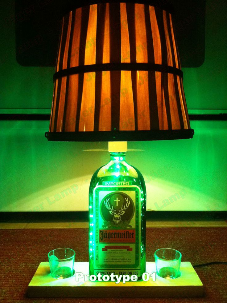 Jäger Lamp for sale in early 2014. This was prototype 1. Jagermeister Lamp #jagerlamp #JagerLampe #JagerLeuchte #JagerLaterne #JagerScheinwerfer #JagerRucklicht #JagerTaschenlampe #JagerHohensonne #JagerLicht