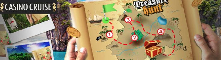 Complete 3 challenges to win a treasure trove of #freespins in the Treasure Hunt Adventure at #Casino Cruise- http://freeslotmoney.com/win-prizes-in-the-casino-cruise-treasure-hunt-adventure/