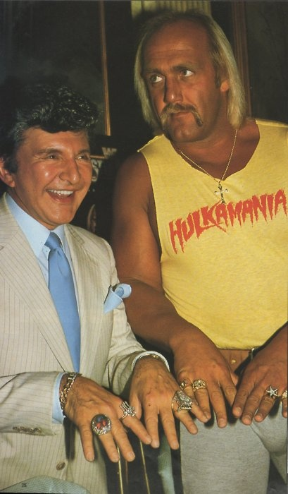 Liberace and Hulk Hogan, how funny is this??? | Retro ...