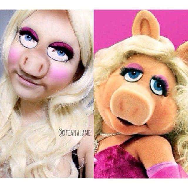 Miss Piggy from the muppet #halloween