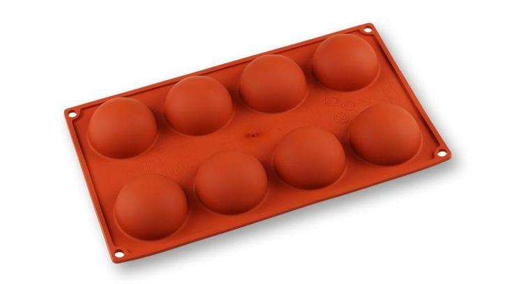 8 adagos félgömb alakú szilikon sütőforma Paderno - Süss Velem.com