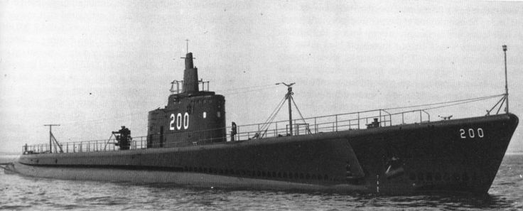 USS Thresher (SS-200), a Tambor-class submarine. Received 15 battle stars and a Navy Unit Commendation for World War II service, placing her among the most highly decorated US ships of World War II.