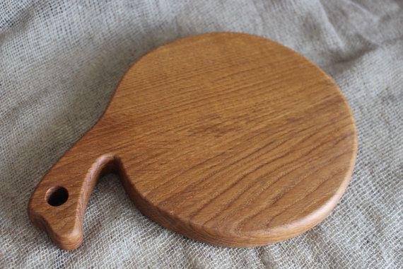 Wood Cutting Board, Natural Oak Wood, Rustic Cutting Board, Custom Cutting…