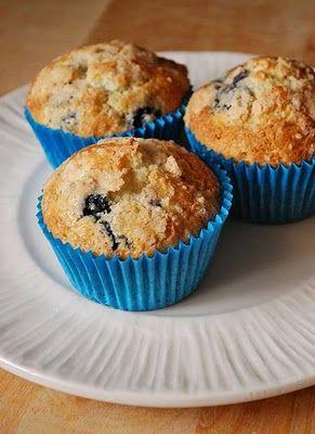 Borůvkové muffiny / Blueberry Muffins
