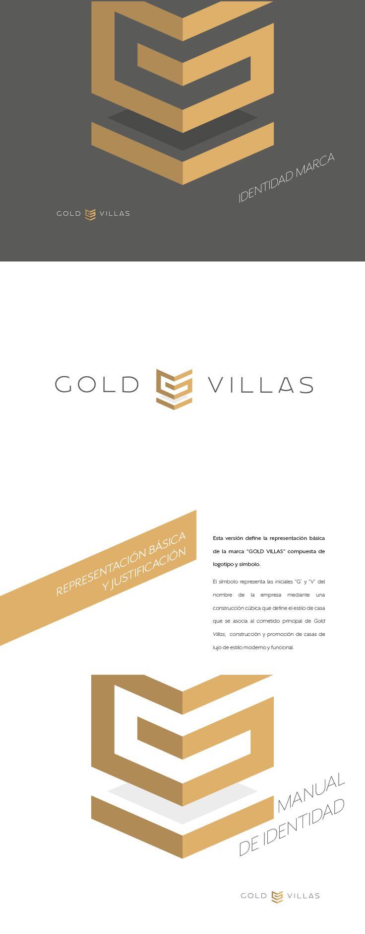 Gold Villas - Branding