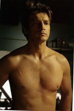 A gratuitous picture of shirtless Mal :) #Firefly