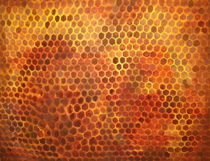 Včelí plást, 2017, by KaVe