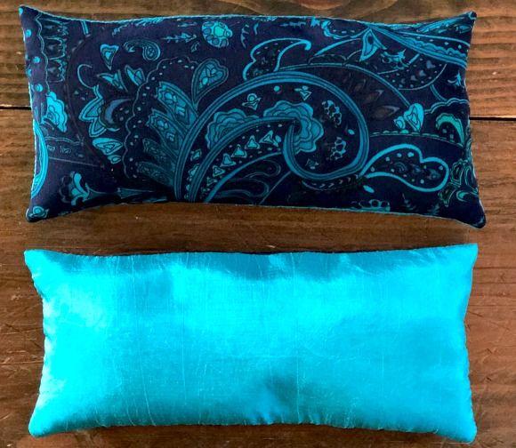 How To Make A Restful Lavender Flax Eye Pillow Pillows Diy Eye Mask Diy Pillows
