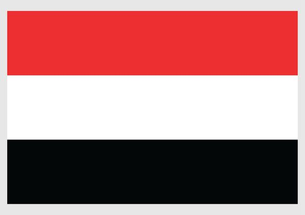 Print Of Illustration Of National Flag Of Yemen A Tricolor Of Red White And Black In 2020 World Country Flags National Flag Yemen Flag
