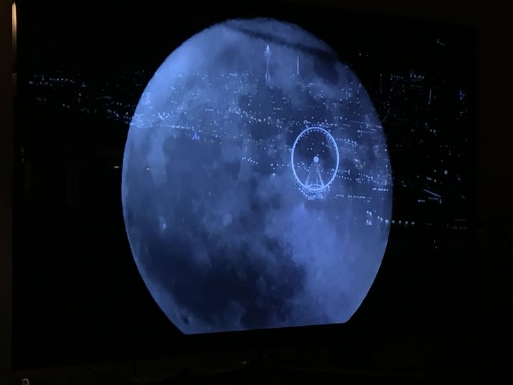 During the Seahawks game tonight NBC overlaid the moon with Seattle forming the Death Star.