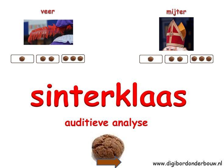 Powerpoint Downloads - Sint: Auditieve analyse